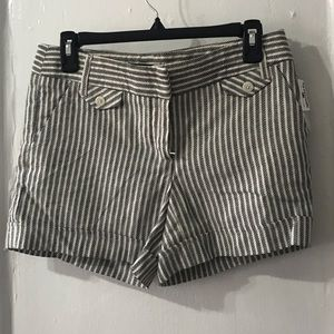 ABS Platinum Striped shorts size 2 NWT